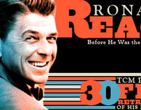 TCM Feature Ronald Reagan