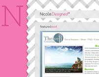 NicoleDesigned Website