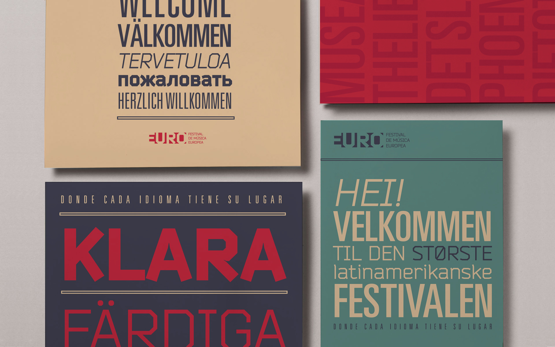 EURO / Festival de música - Sistema