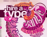 hire a type