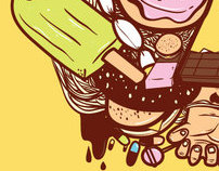 Threadless-Food mix