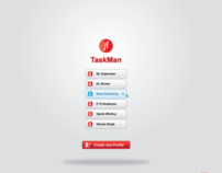 TaskMan Application UX Design