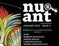 nu®ant illustration magazine