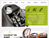 Mailer Design & Layout for The Pro Shop
