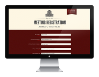 Meeting Registration Form