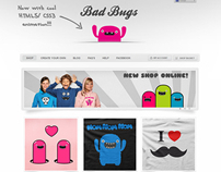 Bad Bugs T-Shirt Shop