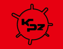 KPz - downtempo logo design