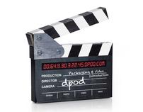 Cardboard Clapper DM Piece for dpod Auckland