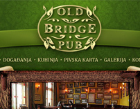 Website for Old Bridge Pub