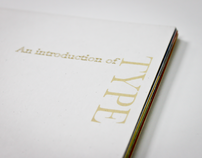 Typographic booklet