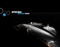 Beton Hala Waterfront Center Belgrade