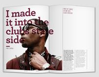 Music festival magazine