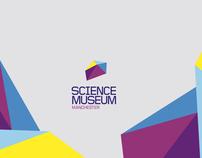 Science Museum identity rebrand concept