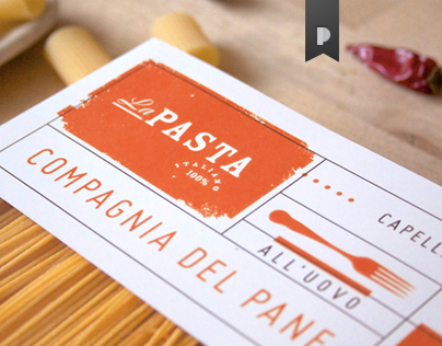 La Pasta - Label + Pack (Copyright Grafò)