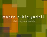 Moore Ruble Yudell Website