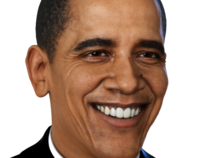 Barack Obama 3D Portrait