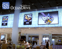 Shoppes at Ocean Drive - Miami Airport Digital Signage