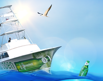 Heineken Light Fishing Minisite