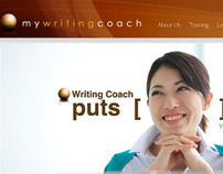 MyWriting Coach Web design