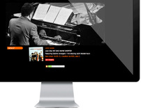 Website & Identity / Joan Díaz Piano