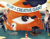 BECOME A CREATIVE GIANT