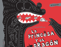 La princesa y el dragón (illustrated childrens album)