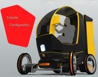 e-Cargo Box ( Electric City Cargo Vehicle )