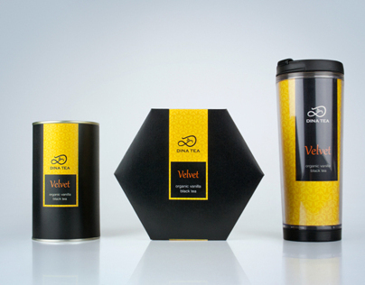 Dina Tea packaging