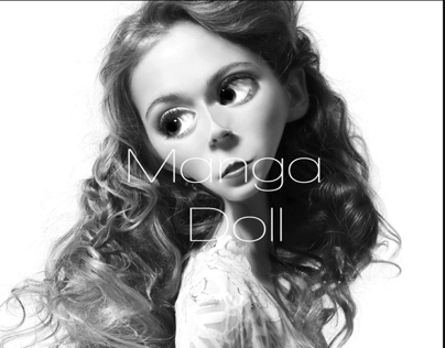 Photoshop Skills, Manga Doll