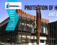 PARESA - new site