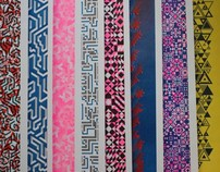 Patterned Risograph Prints