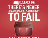 FIRESTONE BANNER ADS