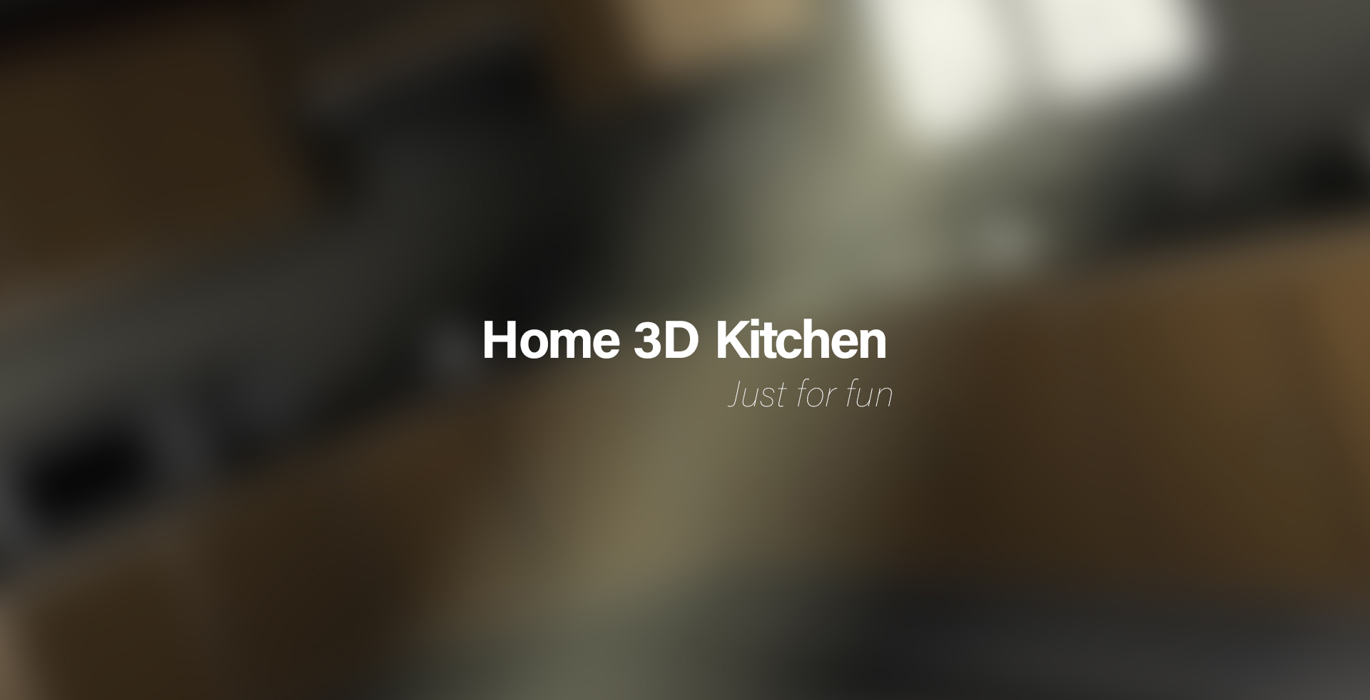 mY 3D Kitchen