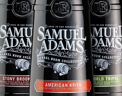 Sam Adams Barrel Room Collection Packaging