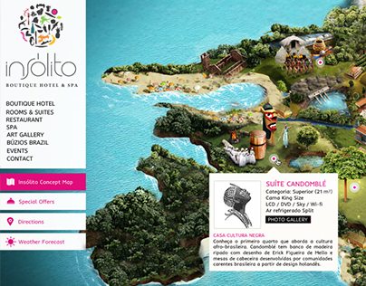 Insólito Hotel - Website