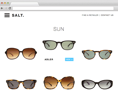 SCAD Work | SALT. Optics