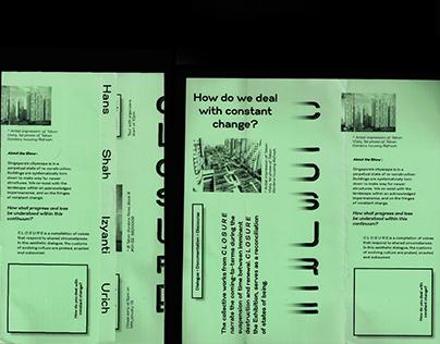 C L O S U R E (Exhibition, Branding, Curation) (FOCA)