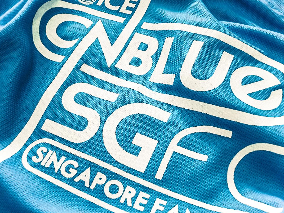 CNBlue SGFC - Identity & Merchandise Design