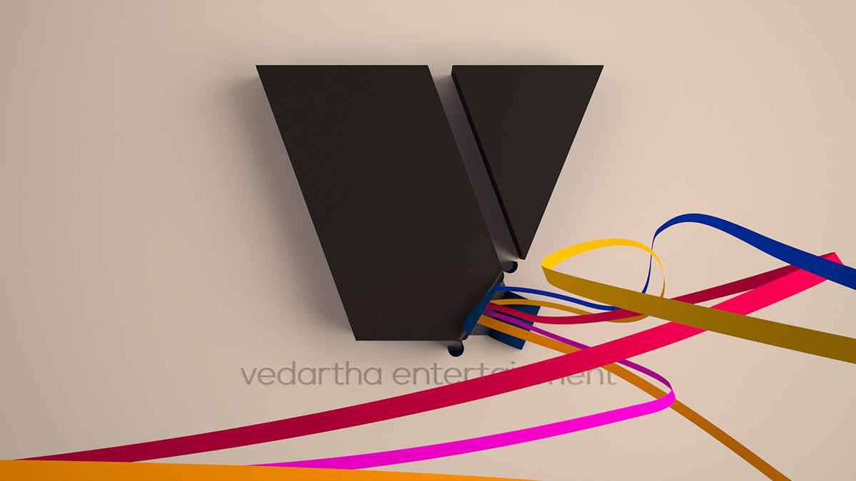 Vedartha Entertainment - Logo Packaging