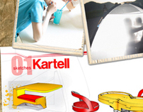 Living apart together - Kartell mobilier//furniture