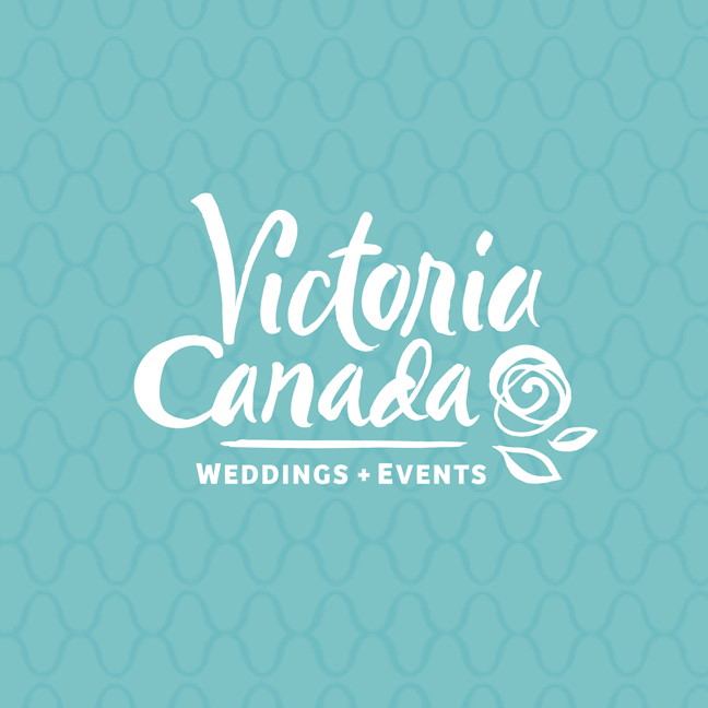 Victoria Canada Weddings and Events new logo sneak peek