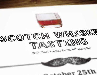 Scotch Whiskey Tasting