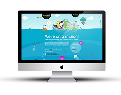 Ethical Recruitment Website Concept