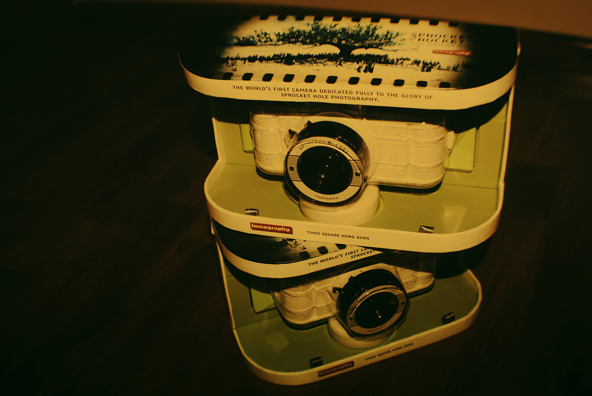 Lomography Asia x Custom Design for Sprocket Rocket