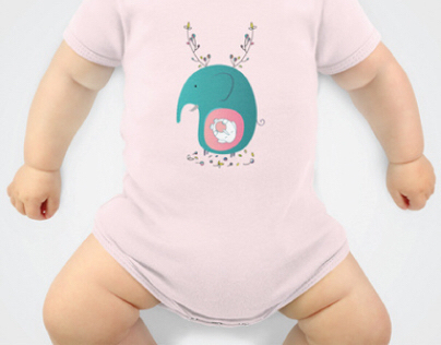 My design for baby cloths!
