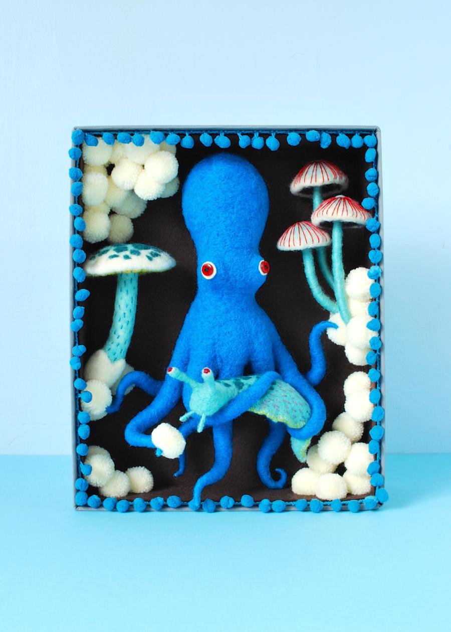 Blue Octopus Box