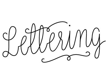 Lettering II