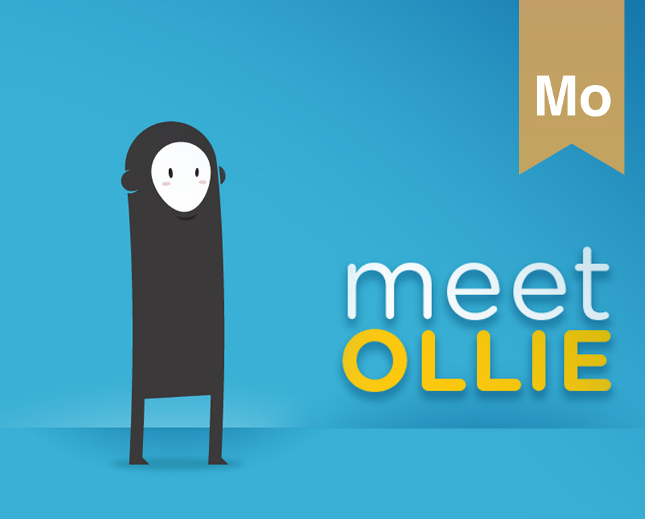 MEET OLLIE // Character & Interactive Design