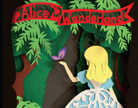 Alice in Wonderland Book Cover
