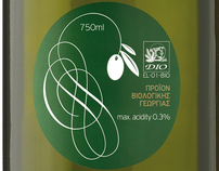 Vinolio Creta|Packaging for Organic Olive Oil & Vinegar